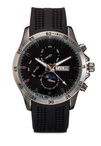 潛水esprit 會員員橡膠錶帶手錶, 錶類, 飾品配件