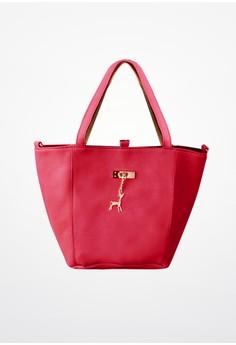 Deer Charm Combo Reversible Bag