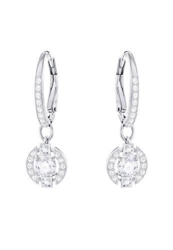 SWAROVSKI silver Attract Pierced Light Earrings 6EF32ACD1200C9GS_1