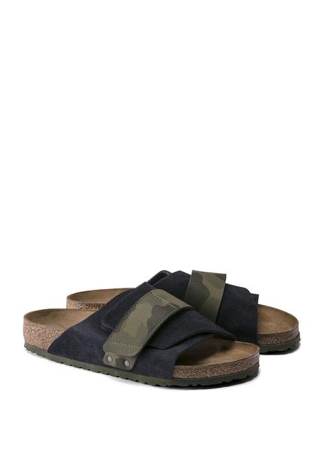 Birkenstock Kyoto Desert 麂皮涼鞋