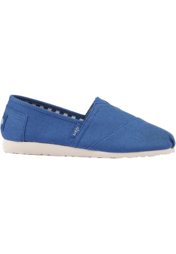 paperplanes blue Paperplanes-1196 Fashion Casual Low Top Easy Slip-Ons Shoes US Women Size PA355SH25QBASG_1