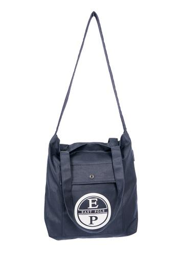 East Pole navy Unisex Two-way Crossbody tote bag BC92EAC548B5DEGS_1