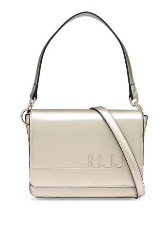 ELLE gold Camille Shoulder Bag 7C0F2ACD7122DCGS_1