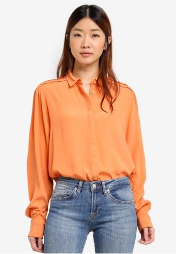 Selected Femme blue Lunar Long Sleeve Shirt 17B22AAE000452GS_1