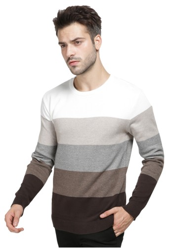 MANLY multi MANLY Sweater Haggart White BC28AAAC33D0A1GS_1
