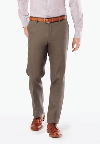 Dockers Signature Stretch Khaki Straight Pants Dark Pebble