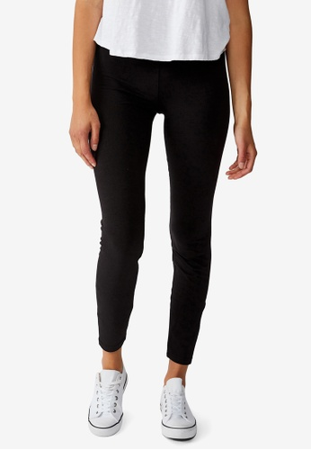 Cotton On black High Waisted Dylan Leggings 89BEDAAE753521GS_1