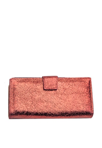 Twenty Eight Shoes red VANSA Burst Leather Bi-Fold Wallet VBW-Wt60271 C6D7AAC9A39B75GS_1