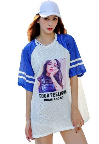 YG Fitness white and blue (3PCS) Fashion Sports Swimsuit Set 910EBUS4B279D3GS_1