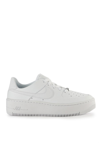 Nike white Nike Air Force 1 Sage Low Shoes F5FE4SHBC6D958GS_1