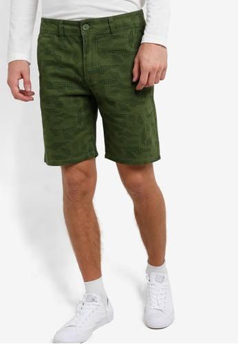 esprit台灣outlet印花短褲, 服飾, 服飾
