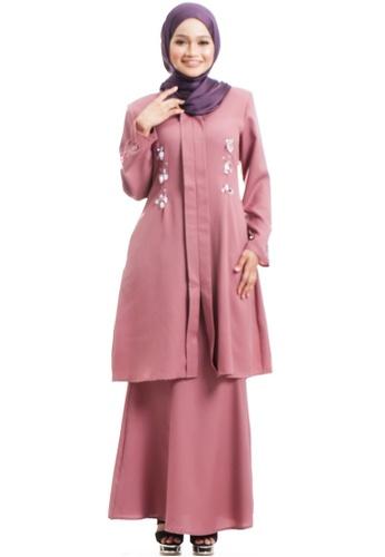 Ashura pink Feyza Kebarung With Eyedrop Beads EEE4FAAC5D43D3GS_1