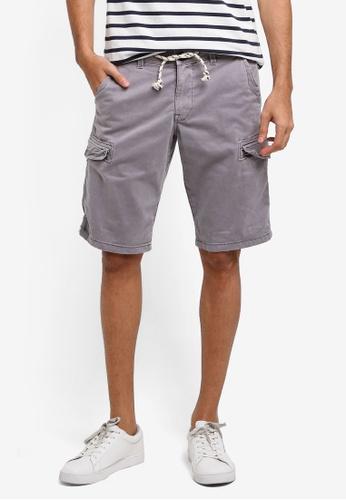 ESPRIT grey Woven Regular Shorts 364B3AAB253A4BGS_1