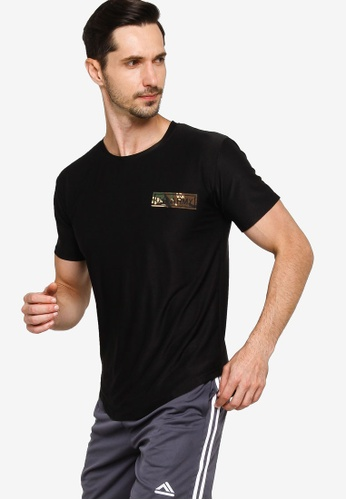 Fidelio black Army Patch Active Tee CD837AACCD9F07GS_1