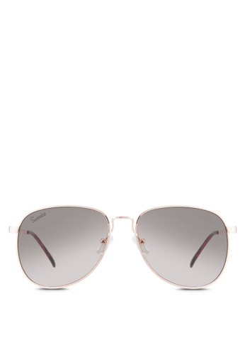 Shawesprit手錶專櫃n 經典飛行員太陽眼鏡, 飾品配件, 飛行員框