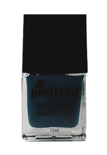 Pretty2u blue Peel Off Water-Based Nail Lacquer 17 PR716BE89EDUMY_1