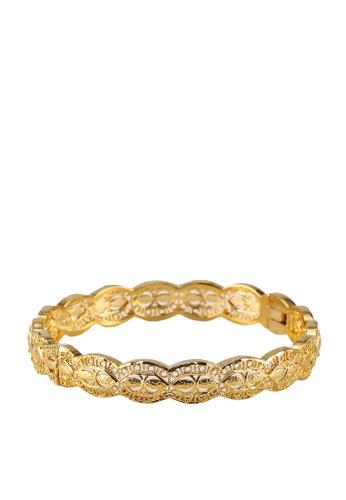 Megane gold Anita Gold Plated Bracelet CB200ACA4B43FAGS_1