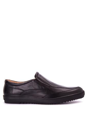 Bristol Shoes black Sergio Black Loafer BR842SH0JID9PH_1