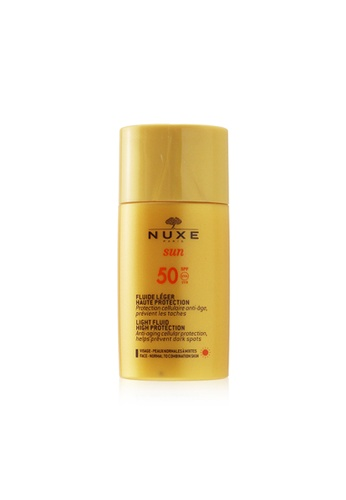 NUXE NUXE - Nuxe Sun Light Fluid For Face - High Protection SPF50 (For Normal To Combination Skin) 50ml/1.6oz 513A6BE6334F4EGS_1