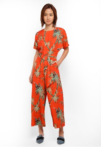 WAREHOUSE multi Barbara Printed Jumpsuit 20931AA2A3276DGS_1