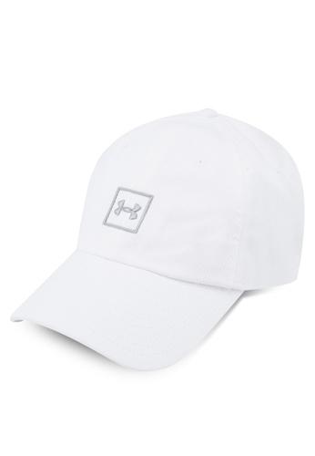644e4852277 Under Armour white Men s Washed Cotton Cap A9507AC99ABFCAGS 1