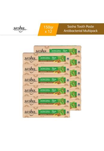 SASHA Sasha Tooth Paste Antibacterial 150gr Multipack 12pcs ABD6FESA677EA6GS_1
