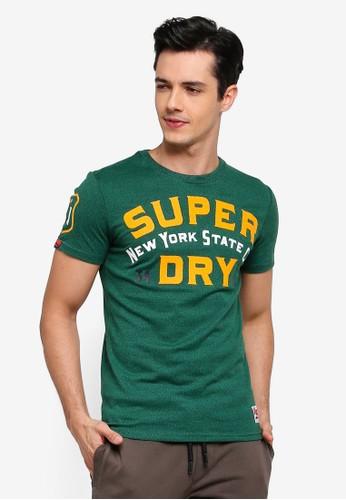 Superdry green 34th St Tee B304BAA8358061GS_1