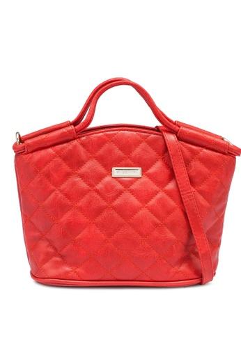 Verchini red Elegant Top Handle Handbag 8748BAC25450C7GS_1