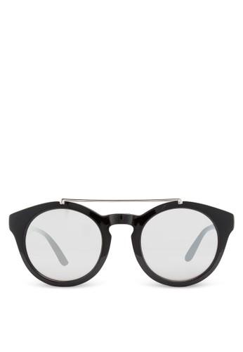 JP0129 鏡橋反光太陽眼鏡, 飾品配件, 飾zalora是哪裡的牌子品配件