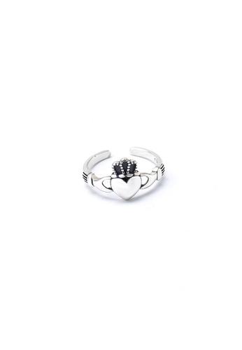 A-Excellence silver Premium S925 Sliver Geometric Ring 02FCBAC67F9E72GS_1