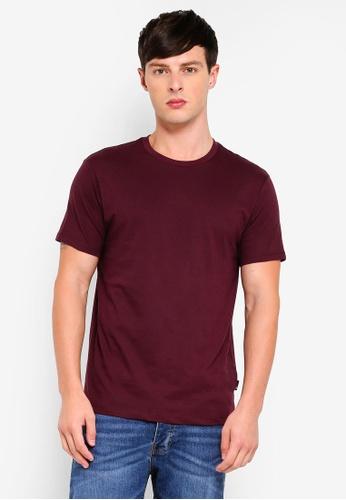 Burton Menswear London 紅色 圓領T恤 B9D0FAA7F5C07AGS_1