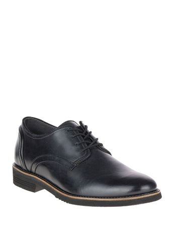Hush Puppies black Deerhound PT Oxford Shoes 95616SH7A09209GS_1