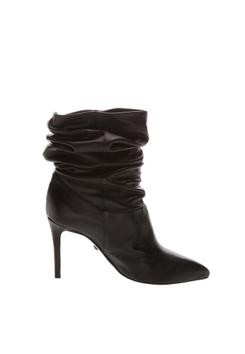 SCHUTZ black Black Soft Leather Ankle Boots - PHOEBE [BLACK] 04B80SHC0E28C7GS_1
