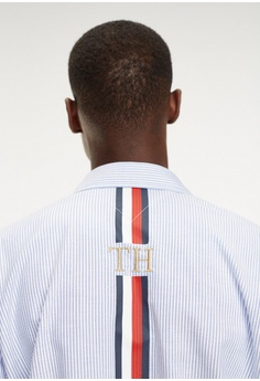 4293bb1ccf9aa Tommy Hilfiger ICON OVERSIZED STRIPE SHIRT RM 629.00. Available in several  sizes