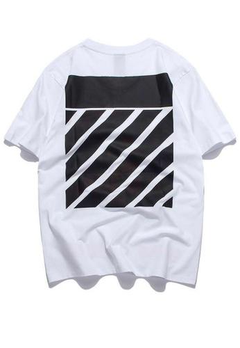 HAPPY FRIDAYS Trend Fluorescent Printed Short T-Shirts RS1292 07EF2AAFB32DE7GS_1