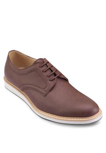 運動風正裝皮鞋, esprit outlet 高雄鞋, 休閒皮鞋