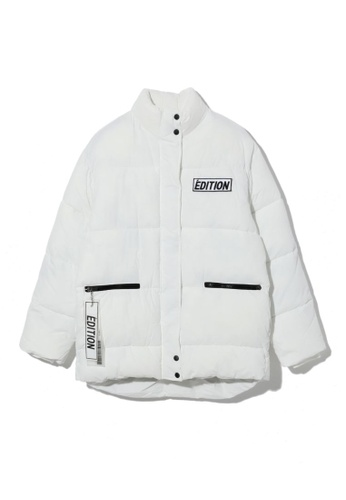 LOS ANGELES PROJECT -FASHION white Édition Puffer Jacket. A3586AAD23D509GS_1