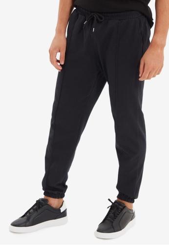 Trendyol black Black Jogger Pants EA90FAA1E2AFC1GS_1