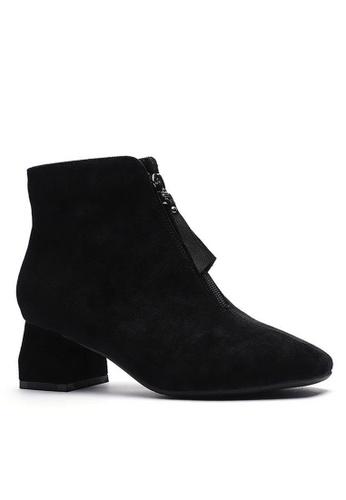 Twenty Eight Shoes 猄布踝靴1922-1 38D25SH98C5438GS_1
