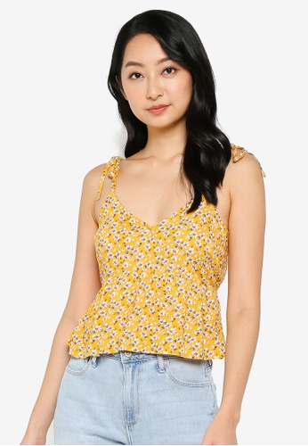 Hollister yellow Set Top FD2C4AAEC6188AGS_1