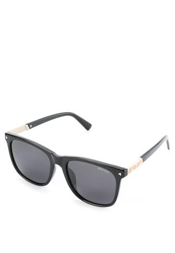 Urban State black Polarized Plastic Titan Square Sunglasses 74825GLA4027AAGS_1