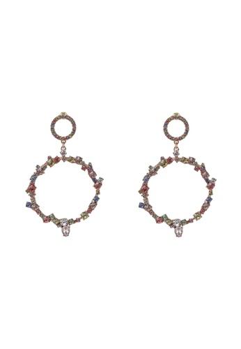 ALDO multi Wywen Pierced Earrings 1767AAC9FBCB78GS_1