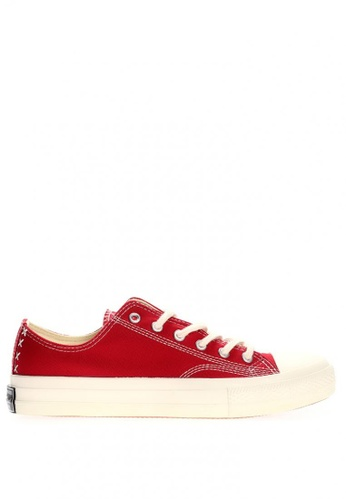 New York Sneakers red Xavier Men's Low Cut Shoes 1851 9AE32SHE35A57EGS_1