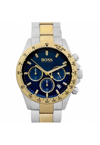 Hugo Boss [NEW] Hugo Boss Hugo Boss Men's Analogue Quartz Watch 45mm HB1513767 25B6DAC10C2F36GS_1