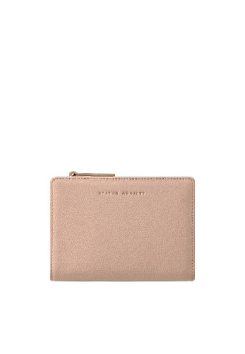 Status Anxiety pink Status Anxiety Insurgency Wallet - Dusty Pink 736E5AC8133D57GS_1