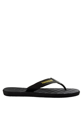Havaianas black Level 17 Flip Flops HA021SH0JPZCPH_1