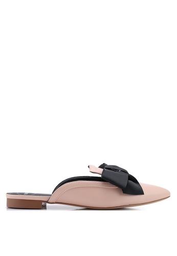 BETSY 粉紅色 尖頭穆勒鞋 DE2D1SHF52022AGS_1