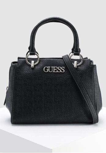 fe0bd14eb3 Buy Guess Heritage Pop Girlfriend Satchel Online on ZALORA Singapore