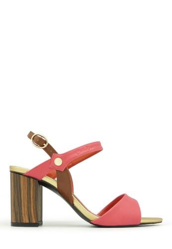 "Carlo Rino pink Carlo Rino 333040-203-24 3"" Dress Sandals (pink) CA924SH0UBSPID_1"