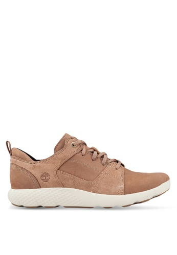 Timberland brown FlyRoam Leather Oxford BCB99SH0D338F8GS_1